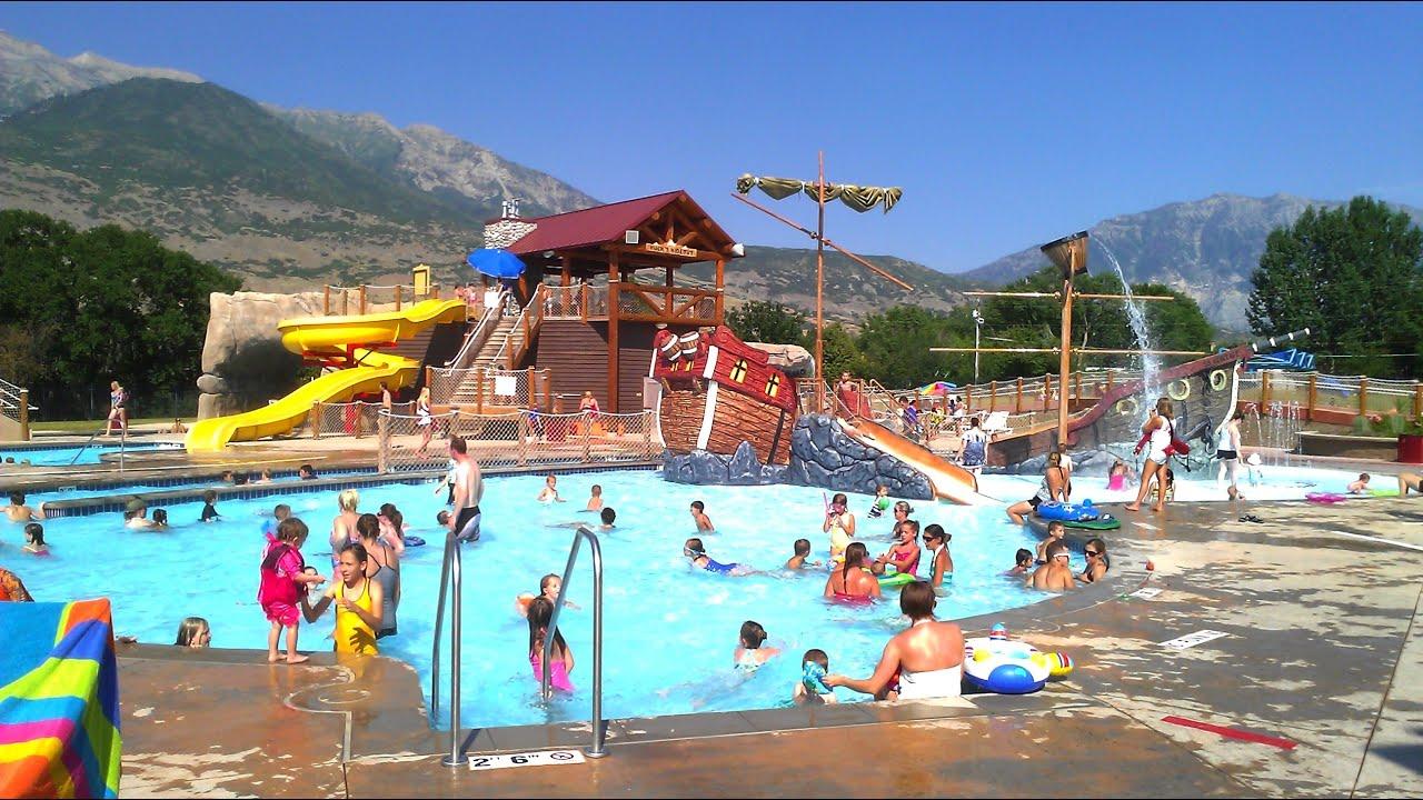 Lindon City Aquatics Center Fun At The Pool Youtube