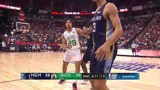 Carsen Edwards Full Highlights Celtics vs Grizzlies 2019 07 13 Summer League   25 Points!
