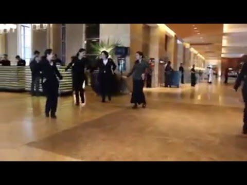 Flash Mob of Hotel staff at Grant Hyatt Santacruz in Mumbai