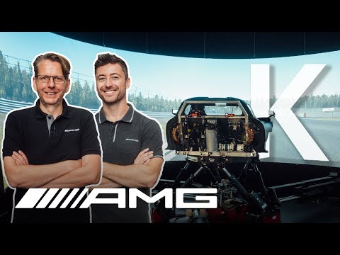 INSIDE AMG – Kinematics | Can Felix Handle the AMG Driving Simulator?