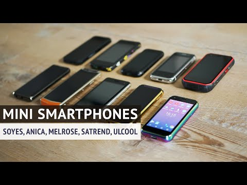 mini-smartphone-sammlung---anica,-soyes,-melrose,-satrend,-ulcool-|-techupdate