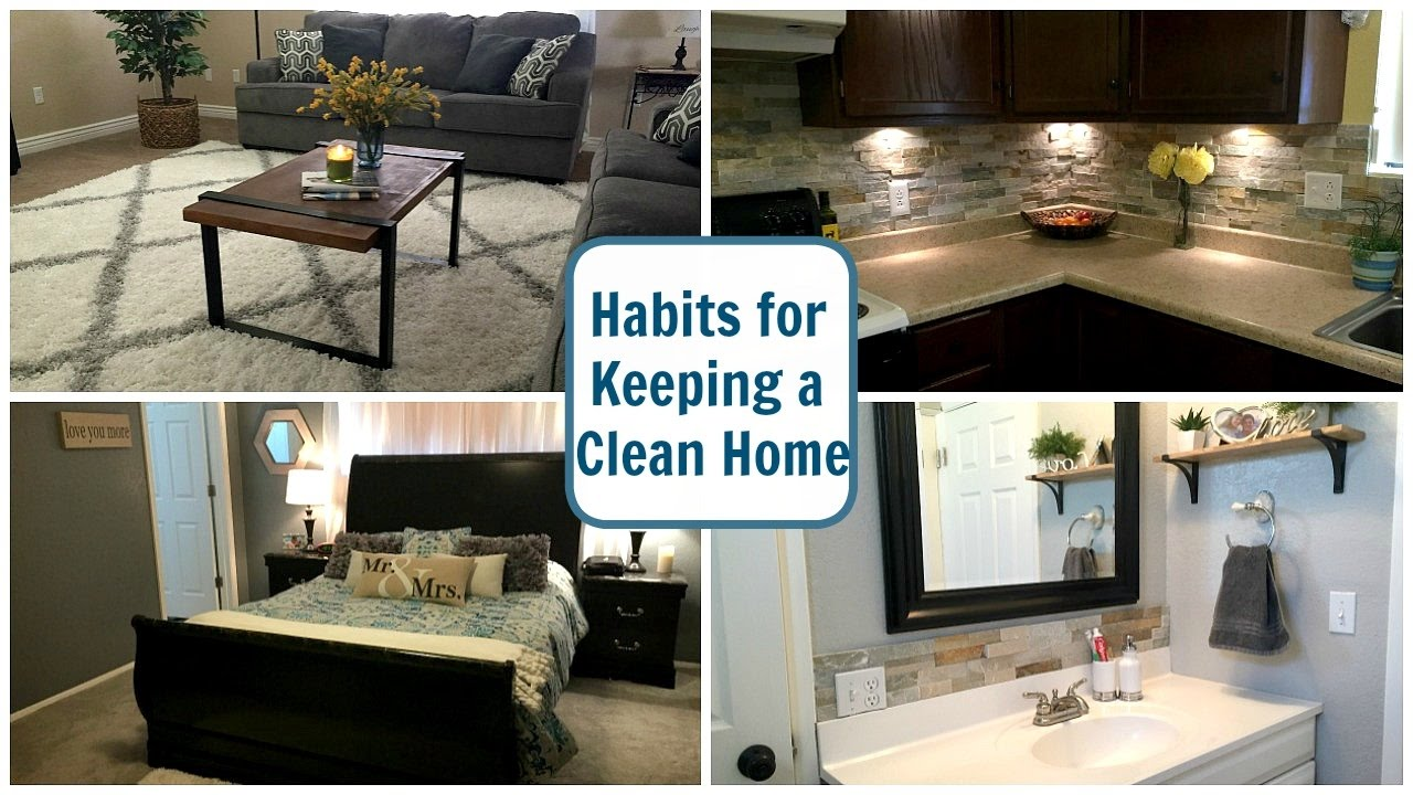 My Habits Tips For Keeping A Clean Home