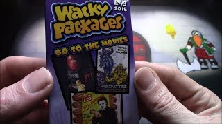 Wacky Packages Go to the Movies! Parody Stickers!