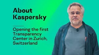 Opening the first Transparency Center in Zurich, Switzerland