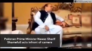 leaked Video of Pm. Nawaz Sharif , shameful