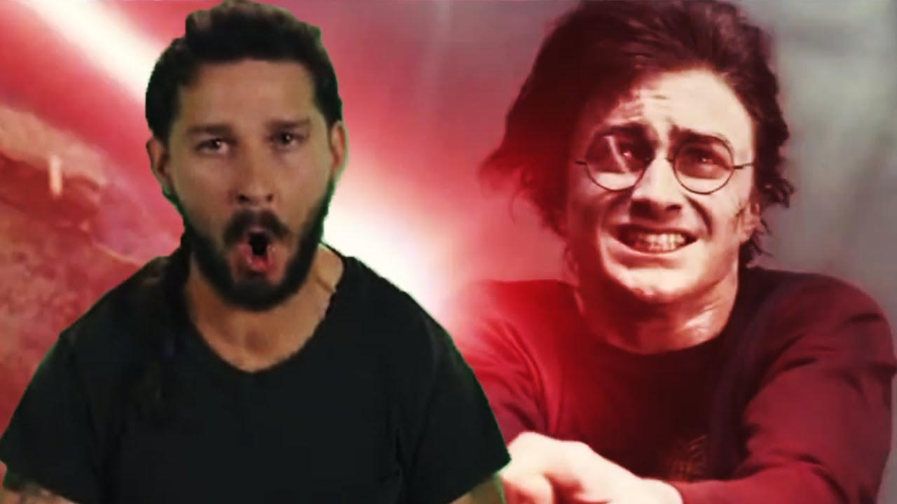 30a65410e8c Shia LaBeouf Motivates Harry Potter to Just Do It - YouTube