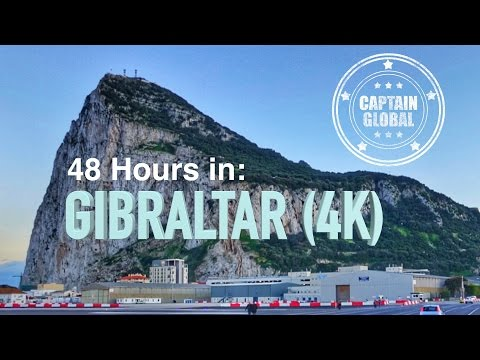 Gibraltar Travel Guide: The perfect weekend break? (4K)