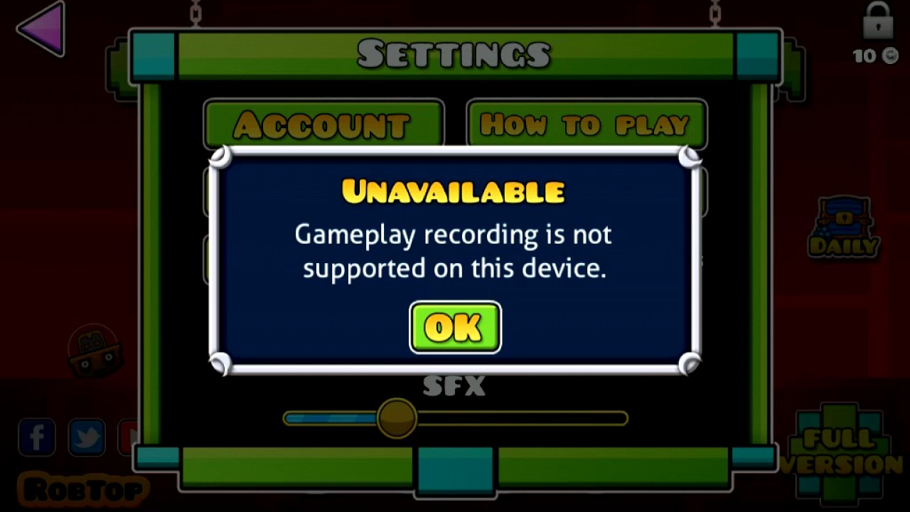 how to record geometry dash on pc