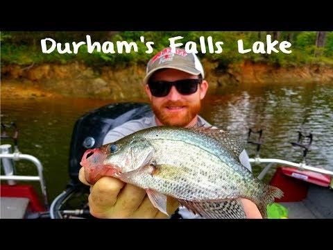 Falls Lake Crappie Fishing
