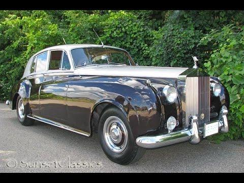 1956 rolls royce silver cloud 1 for sale youtube. Black Bedroom Furniture Sets. Home Design Ideas