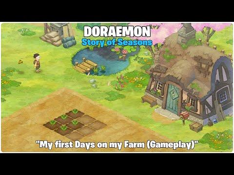"DORAEMON Story of Seasons ""My first Days on my new Farm (Gameplay)"" |"