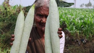 Village Style Snake Gourd Curry Recipe | My Grandma Style Curry | Country foods