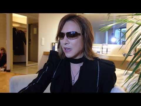 X Japan Yoshiki interview (18th October 2017)