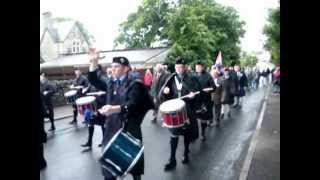 Halkirk Highland Games 2012 - March To The Field
