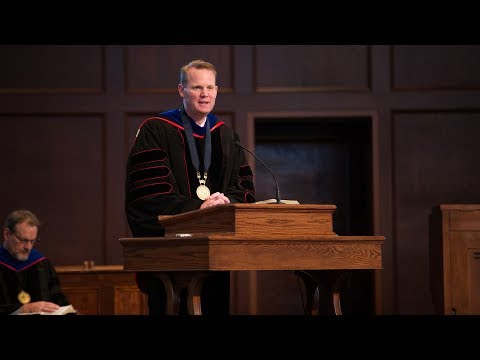 Spring 2018 Convocation with Dr  Jason Allen