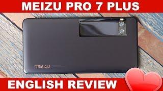 Meizu Pro 7 Plus Review: Dual Screen Helio X30 Flagship (English)