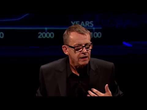 Hans Rosling depicts life.