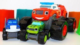Вспыш и чудо машинки Мультфильмы #промашинки Вспыш Игрушки Монстр траки Мультики для детей Blaze