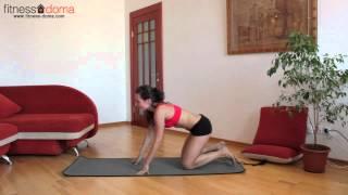 Упражнения для похудения - тренировка для тонуса всего тела!(Это силовая тренировка с использованием веса собственного тела. Выполняйте ее для тонуса всего тела! Други..., 2012-10-07T08:47:25.000Z)