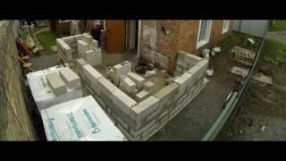 видео Как пристроить веранду к дому из пеноблоков — фото