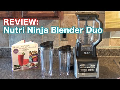 Review: Nutri Ninja Blender Duo with Auto IQ