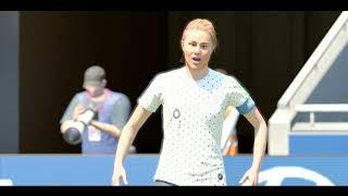 Fransa - Avustralya Kadınlar Maçı FIFA 19 PS4 PRO 4K