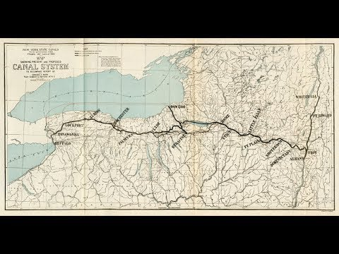 The History of the Erie Canal documentary