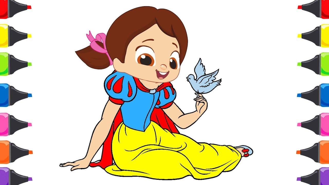 Pamuk Prenses Niloya Cocuk Sarkilari Renkleri Ogreniyorum Youtube