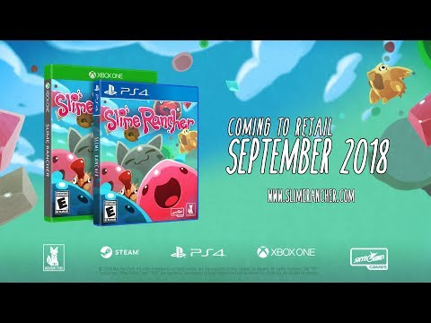 Slime Rancher PS4 Release Date Announced