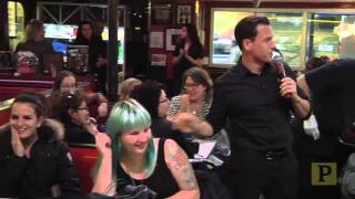 """Some """"Beauty and the Beast"""" With a Side of """"Grease"""" at Ellen's Stardust Diner"""