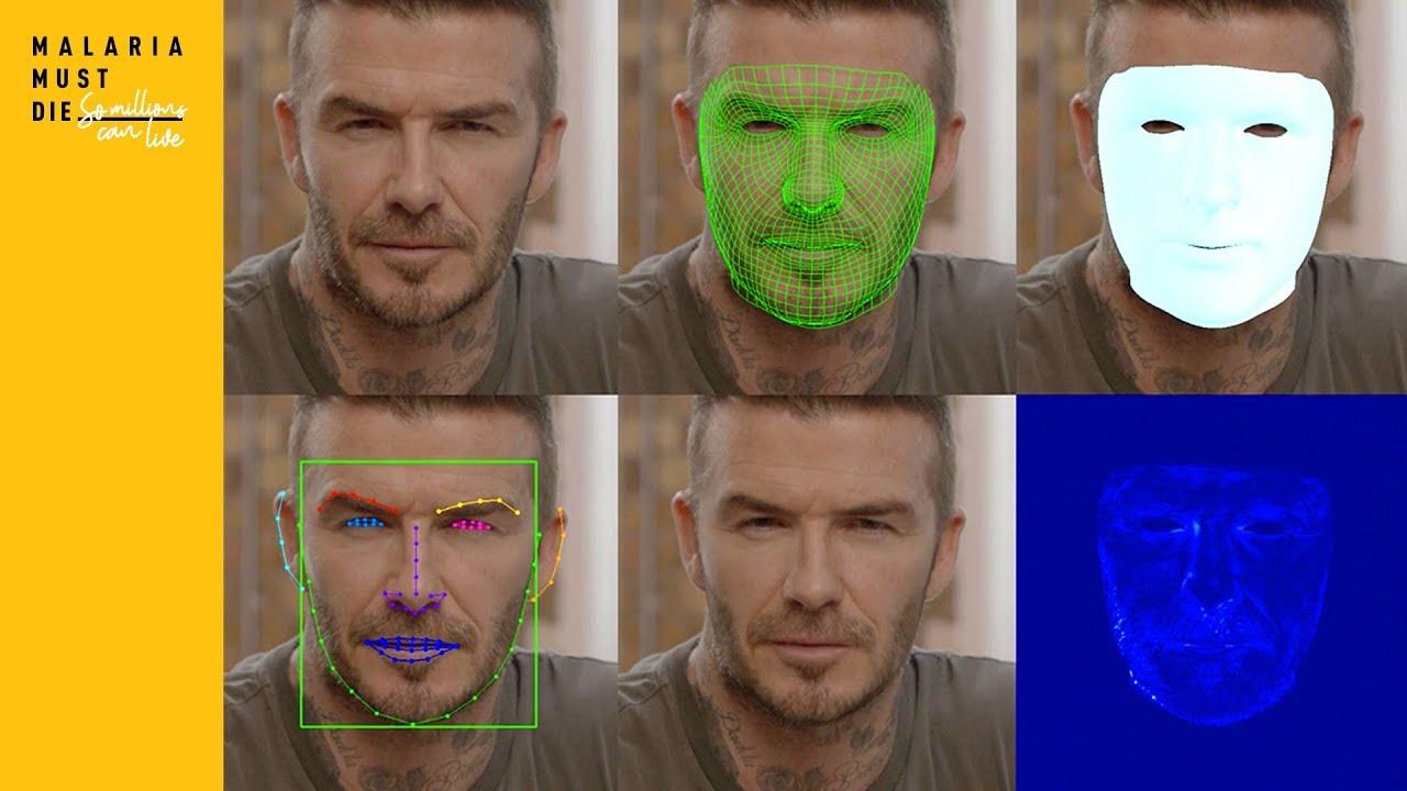 Resultado de imagem para deepfake david beckham