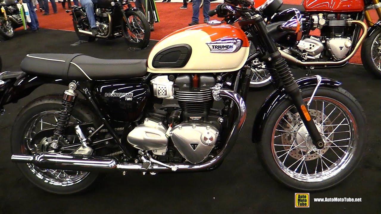 2017 Triumph Bonneville T100 Walkaround Montreal Motorcycle Show