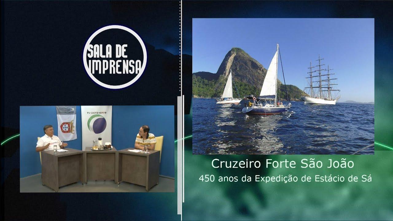 Tv Costa Norte Cruzeiro Forte São João é Tema Do Sala De Imprensa