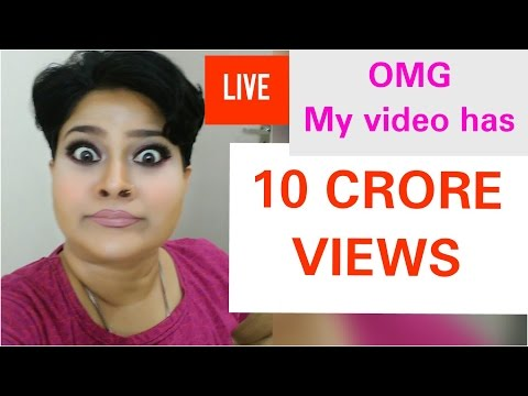 10 crore views, Dr shalini Live Chat celebrating 10 crore views, 100 million views on YouTube