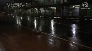 Typhoon Ompong: Situation in Tuguegarao City as of 1:40 am