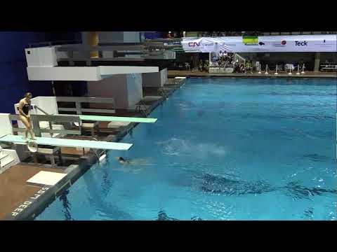 2017 Canada Summer Games - Diving Final - 1M Women