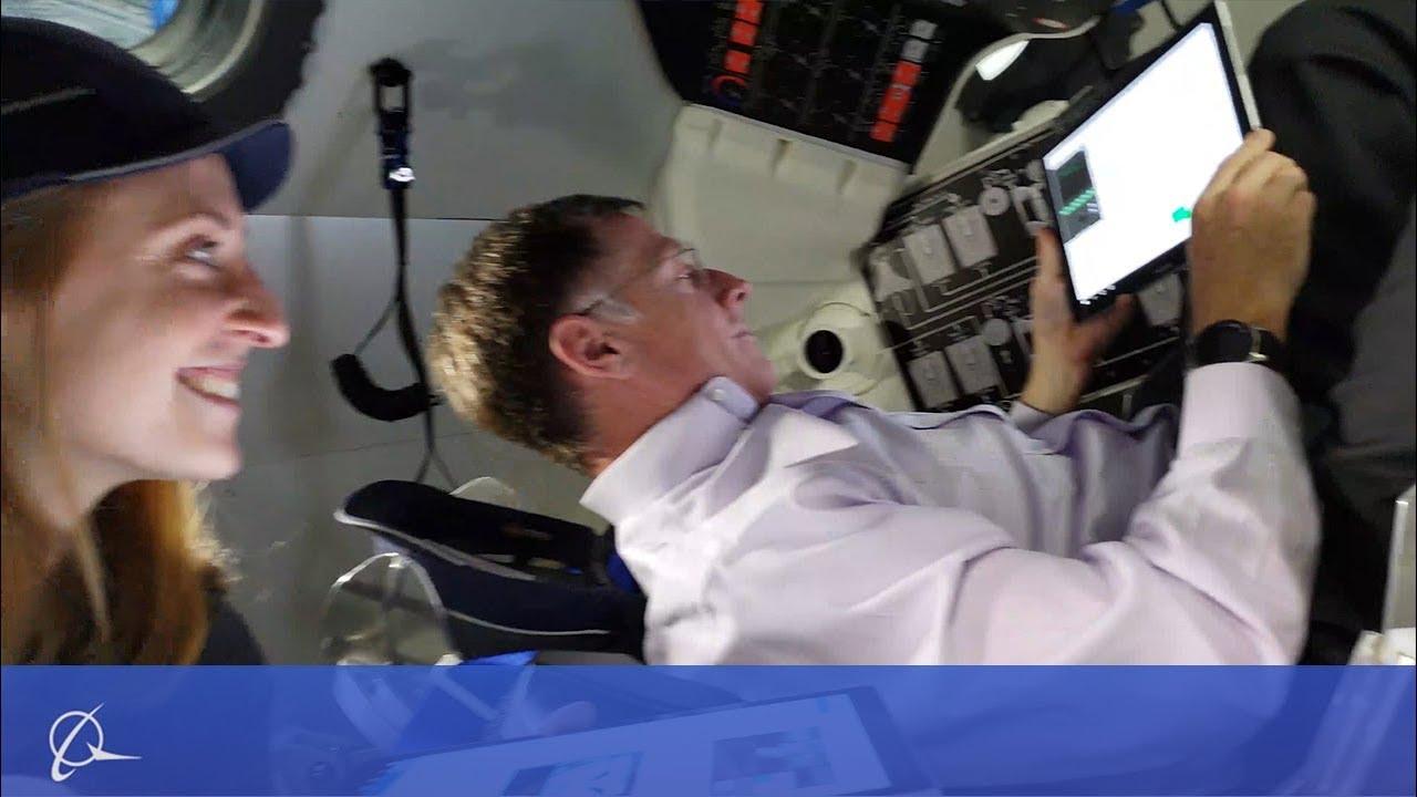 Resultado de imagem para Boeing Starliner Engineer Gets Paid to Pretend She's an Astronaut