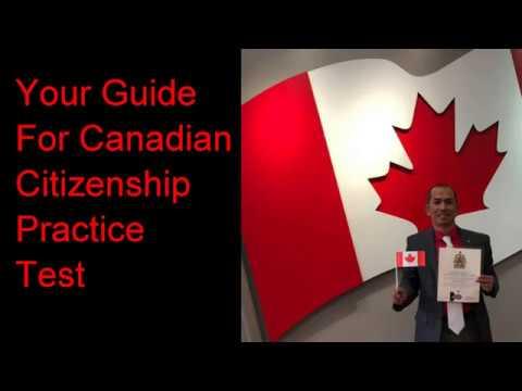 Citizenship Canada PRACTICE TEST SET 1 ( Discover CANADA )