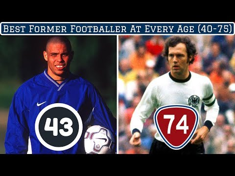 Best Former Footballer at EVERY Age (40-75)