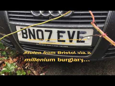 Rock Ferry - Lawrence Court - Stolen Audi A6 - Birkenhead