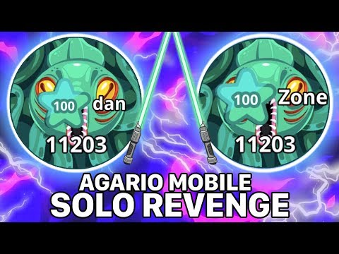Solo Revenge + Fast Duo (Agar.io Mobile Gameplay)