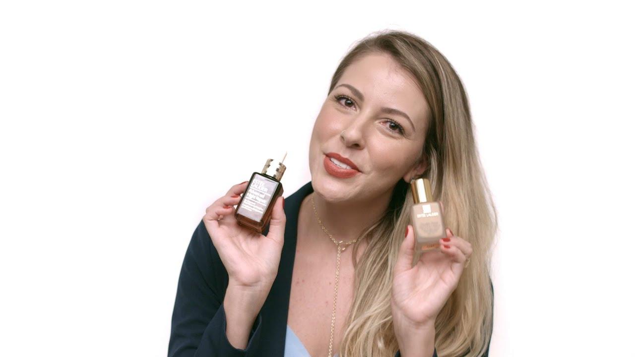 Preparação de pele com Estée Lauder