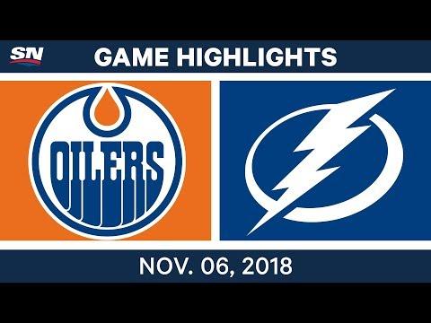 NHL Highlights | Oilers vs. Lightning – Nov. 6, 2018