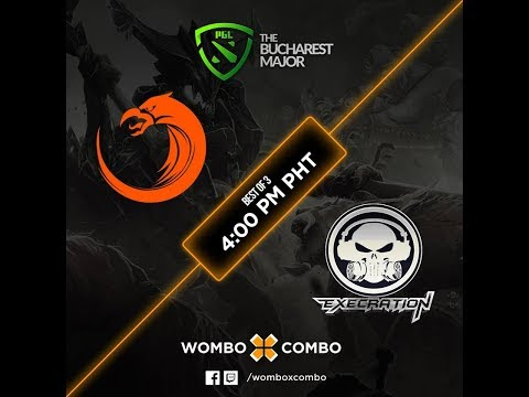 TNC Pro Team vs Execration Game 1 (BO3) | The Bucharest Major SEA Qualifiers finals