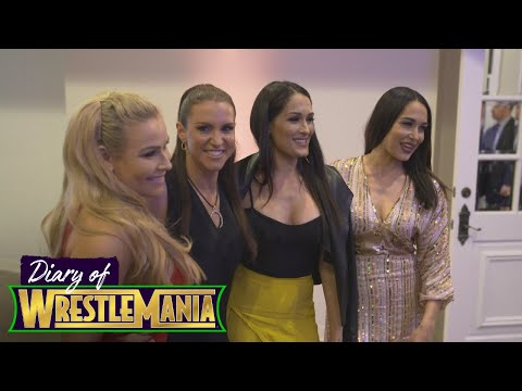 The PARTY has STARTED! The Bellas and Stephanie McMahon celebrate Superstars for Hope