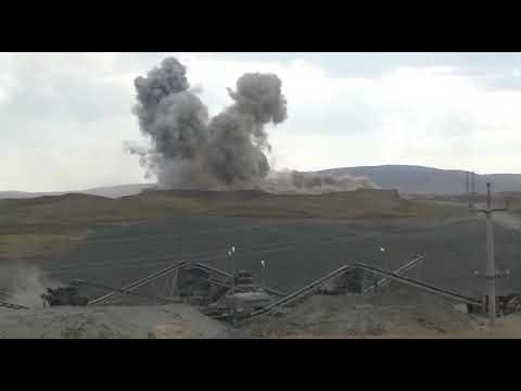Взрывы Вокруг поселка Биршогыр
