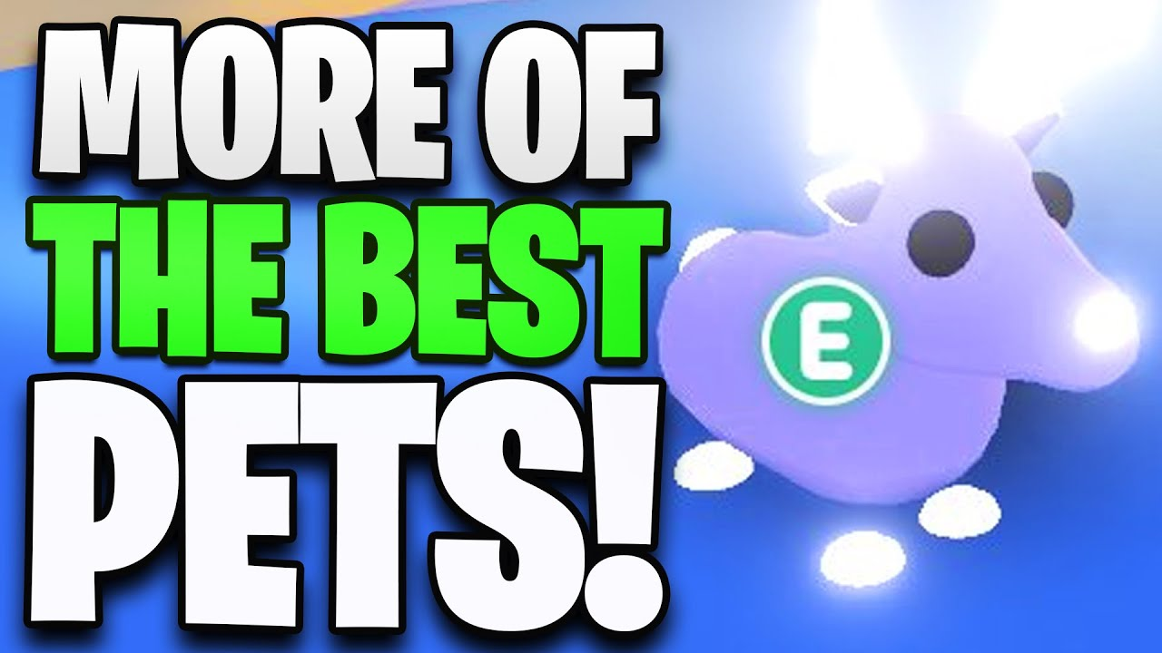 The Best Adopt Me Pets in Roblox! (RANKED) (Part 2)