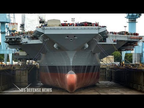 U.S. Navy new 21st century $12,8 billion Nuclear-Powered Supercarrier
