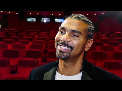 David Haye on DON CHARLES BEEF: We are FIGHTING MEN but it's all in the past