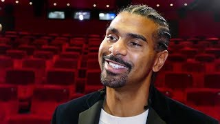 David Haye on DON CHARLES BEEF: We are FIGHTING MEN but it